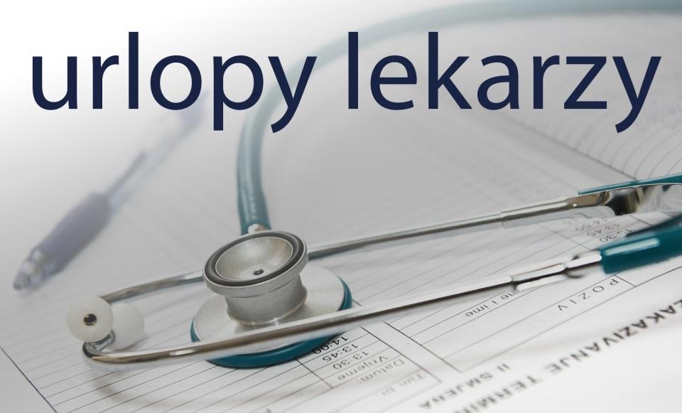 URLOPY LEKARZY